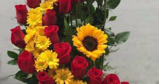 Yellow roses and white daisies Summer - #beto #dai... - #beto #dai #daisies #Ros...