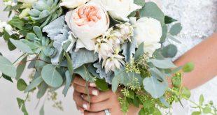 28 wunderschöne Brautsträuße, die Sie inspirieren