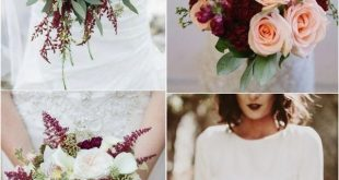 Amazing Red Wedding Bouquets