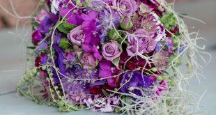 Brautstrauss mit Orchideen - Foto: Rebecca Conte