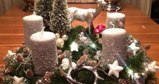 Filling Your Home with Favorite Christmas Scents- Pink Candles