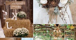 Meine Hochzeit im Herbst: 50+ Ideen für atemberaubende Hochzeitsdeko Vintage