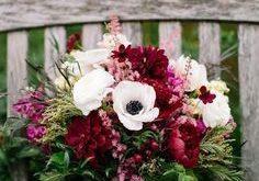 November Wedding Bouquet Bridal Bouquets Fall Flowers Arrangements, anemones