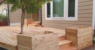 Planters, Flower Boxes For Deck Railing Planters Walmart Backyard ..