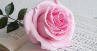 Real touch pink flower rose Fake flower to vase Artificial flower arrangement Wedding table centerpiece