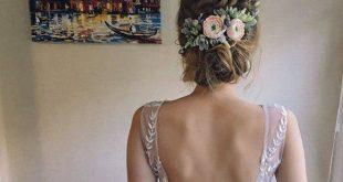 Saftiges Stück hochzeitsstirnband Blumen und Blätter Beige Blume Krone Braut H...