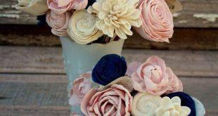Sola Blumenstraußbräute, die Blumenstrauß Marineblau und Wedding sind