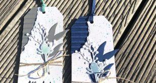Wellpapier, Eisblüten, Anhänger