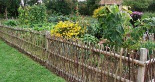 könnte diesen Zaun in einem halben Tag komplett bauen.