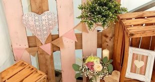 super Hochzeit / Deko / Dekoration / Weinkisten / Obstkisten / Bilderrahmen / Windlicht / Holz / Rustikal / Wedding / Decoration / DIY / Do it yourself / ro